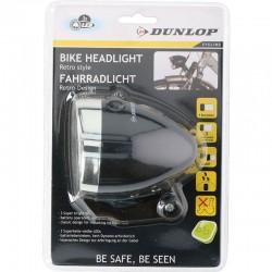Lampka rowerowa Dunlop headlight white 3led AB 16809