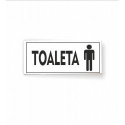 Tabliczka 02 - TOALETA (męska) - TC/02