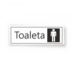 Tabliczka 04 - TOALETA (męska) - TC/04