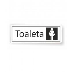 Tabliczka 04 - TOALETA (damska) - TC/04