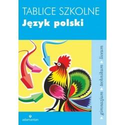 Język polski tablice szkolne wyd. 5