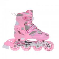 Łyżworolki Nils Extreme 2w1 Pink r.31-34 NH18366 A