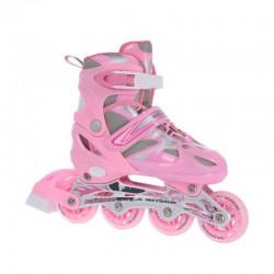 Łyżworolki Nils Extreme 2w1 Pink r.39-42 NH18366 A
